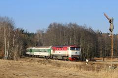 30. prosinec 2008: Umíráček mechaniky / The Semaphore Retirng (jetebe.cz) Tags: železnice railways bardotka 749 vráž 2008 czechia