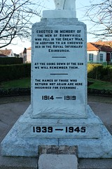 Bonnyrigg (Edinburgh Charlie) Tags: bonnyrigg ww2 ww1 war warmemorial midlothian