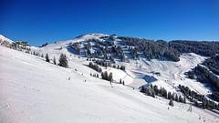 Saalbach Hinterglemm, Austria (jamesalexandermichie) Tags: snow skiing austria mountain sky blue white snowcapped ski skier