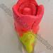 """Rose"" by K M K, ceramic, $25.00"