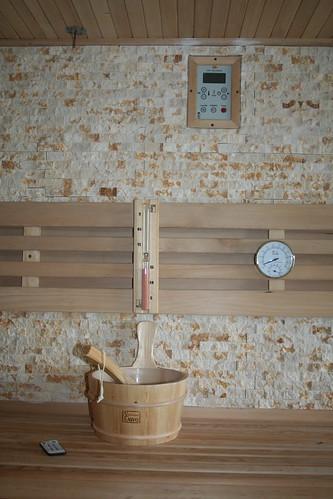 close up sauna