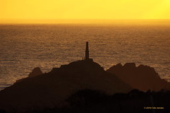 3KA12387a_C (Kernowfile) Tags: pentax cornwall cornish water reflections sunset capecornwall chimney people hill waves scillyisles pentaxforums
