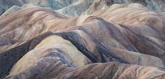 Death Valley-6300-Pano-Edit (Michael-Wilson) Tags: southwest barren deathvalley michaelwilson desert color hills soft pastel colors california nationalpark zabriskiepoint shapes texture