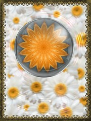 Sunflower Mandala in Daisy PIP & KVAD Frame (Crystal Writer) Tags: kaleidoscope kaleidescope kaleidoscopic kalidascope calidascope kaleid optical abstract kaleidoscopesonly design pattern mirrored reflection light color colour colorful colourful image picture creation creative creativity beauty original unique crystal crystalamurray crystalmurray crystalwriter christianwriter christian writer mandala kaleidoscopelime androidapp android app cellphoneapp photoedits samsunggalaxynote galaxynote smartphoneapp madewithaphoneapp kvad kvadphotostudiopro photostudiopro framed borderedandframed borderedframed border bordered filter photofilter texture layer effect photoeffect pip pictureinpicture daisies background yellow