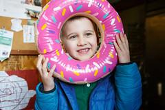 61/365 donut head