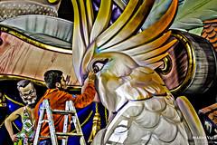 Retocando (Mario Vall) Tags: 2019 fallas valencia comunidadvalenciana arte callejero monumento falles artista tradicion party