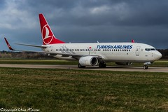 Turkish Airlines TC-JVD (U. Heinze) Tags: aircraft airlines airways airplane planespotting plane haj hannoverlangenhagenairporthaj eddv nikon d610