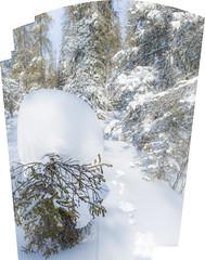 Jänön jäljet (akkujala) Tags: finland lapinluonto lapland lappi lappishnature suomi talvi winter muonio pallas snow