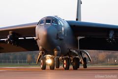 Boeing B-52H Stratofortress 61-0015/LA US Air Force RAF Fairford 28/03/19 (Shaun Schofield) Tags: buff bomber b52h boeing usaf aircraft aviation raf fairford stratofortress