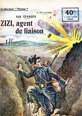 Collection Patrie - (11) - Zizi, Agent de Liaison (HCLM) Tags: 19141918 1418 wwi poilus guerre première mondiale soldats armée militaire