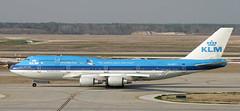 B747 | PH-BFY | IAH | 20040218 (Wally.H) Tags: boeing 747 boeing747 b747 phbfy klm royaldutchairlines iah kiah houstongeorge bush intercontinental airport