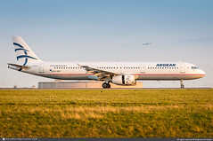 [CDG.2012] #Aegean.Airlines #A3 #Airbus #A321 #SX-DVP #awp (CHRISTELER / AeroWorldpictures Team) Tags: aegeanairlines a3 aee airliner european greece greek plane aircraft airplane avion airbus a321 a321231 cn3527 engines iae v2533 sxdvp davzz xfw ilfc aercap avgeek aviation aeroworldpictures spotter christeler planespotting paris charlesdegaulle airport roissy cdg lfpg france landing spotting nikon d300s nef raw nikkor 70300vr lightrrom