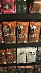Starbucks - Coffee Atlas (Gilli8888) Tags: seaham cameraphone samsung s7 coast coastal seaside starbucks coffee pattern pikeplace kenya drink packets coffeeshop countydurham