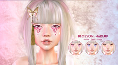 THIS IS WRONG Blossom MakeUp - exclusive for Fluffy Kawaii (THIS IS WRONG owner) Tags: makeup make up fluffy kawaii applier catwa lelutka omega japan oriental blossom