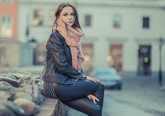 Magda (Vagelis Pikoulas) Tags: portrait woman women girl girls beautiful beauty canon 6d sigma art 85mm bokeh city photography photoshoot 2019 europe poland poznan