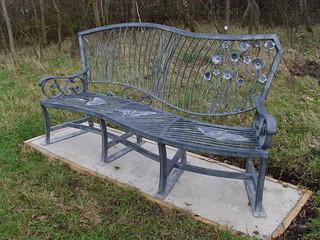 Wildlife Meadow Bench