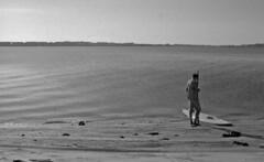 Morning Solitude (PositiveAboutNegatives) Tags: nikon slr vintagecamera nikonf eyelevel plainprism 40mm cosinavoigtlander cv40mmf2ultron film analog bw blackandwhitefilm foma fomapan fomapan200 rodinal coolscan lakeworth florida