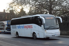 NX NX99 @ Drummer Street, Cambridge (ianjpoole) Tags: johnson brothers national express volvo b9r caetano levante fj60ege nx99 working route 010 peterborough queensgate bus station london victoria coach