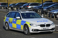 NX18 CCY (S11 AUN) Tags: cleveland police bmw 330d 3series touring anpr traffic car roads policing rpu 999 emergency vehicle nx18ccy