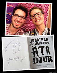 20170819_i1k Jonathan Safran Foer gave a talk in a library in Gothenburg, Sweden! :D (ratexla) Tags: jonathansafranfoer 19aug2017 2017 stadsbiblioteket göteborg gothenburg goteborg sweden sverige göteborgsstadsbibliotek celeb celebrity celebrities star stars writer author book books literature writing writers authors person people human humans homosapiens scandinavia europe celebs life earth tellus organism famous culture art entertainment kändis kändisar photophotospicturepicturesimageimagesfotofotonbildbilder imet meeting encounter eatinganimals ätadjur man men guy guys dude dudes woman women girl girls chick chicks me leme ratexla selfie iphone iphone5 autograph signed signature siggy autograf text diptych canonpowershotsx50hs favorite 1000views