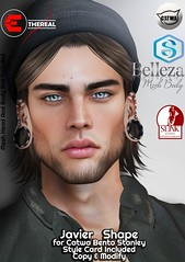 Javier Shape For Bento Catwa Stanley (Ethereal by Marzia Farrasco) Tags: catwa stanley shape skinfair2019 event secondlife bento