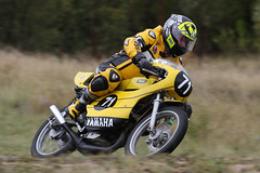 Carnell Classic (Alan McIntosh Photography) Tags: action sport speed motorsport motorcycle bike track race carnell raceway stanthorpe classic historic yellow