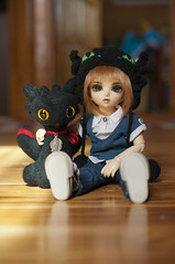 How To Train Your Dragon 11 (Mista-Oro) Tags: toy howtotrainyourdragon dragon dreamworks toothless fairyland ltf littlefee chiwoo bjd doll