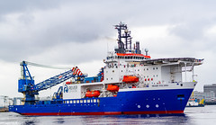 Photo of Rever polaris Manovering in Aberdeen Harbour After Arriving 07/04/2019.
