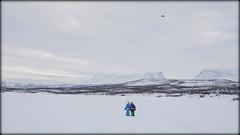 Blinded by science (Abisko, Sweden) (armxesde) Tags: pentax ricoh k3 schweden sweden norrbotten abisko lappland lapland winter snow schnee drone see lake gefroren frozen torneträsk