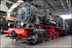 Lokomotive 55 3345 (Logris) Tags: lok lokomotive nostalgie eisenbahn bochum museum eisenbahnmuseum