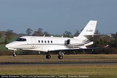 G-SHUI | Cessna 680A Citation Latitude | Air Charter Scotland (james.ronayne) Tags: gshui cessna 680a citation latitude air charter scotland