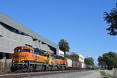 Headed for the Brewery (GRNDMND) Tags: trains railroads bnsf locomotive emd gp60m gp60 claremont california