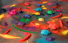 Flowers (ana_kapetan_design) Tags: art colours paint ice water artdigital acrylic