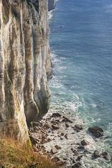Why I'm not a bird (Sizun Eye) Tags: antifer cliffs lime normandy normandie france seascape sea sizuneye nikond750 tamron2470mmf28 cap