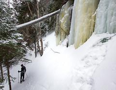 IMG_9254 (ckhaley) Tags: franconia frozenwaterfalls icefalls waterfall waterfalls newhampshire winterhiking winter snow snowfalls ice snowing snowshoing snowshoe