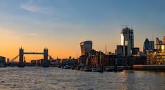 Thames Sunset (Mister Oy) Tags: london thames towerbridge gherkin river buildings glass cruise nikond850 nikon50mmf14afsg