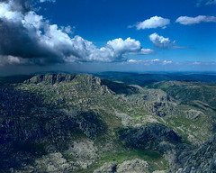 Massif (lebre.jaime) Tags: portugal serradaestrela highland landscape massif hinterland rock vegetation sky cloud hasselblad 503cx distagon cf4050fle analogic film120 mf mediumformat kodak ektar100 epson v600 affinity affinityphoto