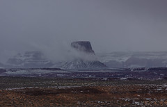 Wintry Arizona (CraDorPhoto) Tags: canon5dsr landscape winter nature outdoors cloudy usa arizona butte fog