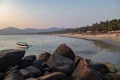 Palolem Beach (ORIONSM) Tags: palolem beach goa india landscape golden hour sea shore ocean sand coast holiday vacation travel panasonic tz100 lumix