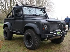 C156 LNT (Nivek.Old.Gold) Tags: 1985 land rover 90 pickup 2495cc diesel