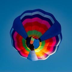 Colorful Blue (subrec) Tags: lakeland florida hot air balloons sunnfun sun n fun international flyin expo colorfulskies colorfulsky colorful color tampabay tampabayarea tampa orlando airshow pentaxk50 pentax pentaxart bluesky