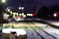 Kupavna Railway Station (Andrey Sklyarenko) Tags: kupavna moscowregion russia winter zheleznodorozhny bokeh bokehaddicts bokehphotography railway railwaystation железнодорожный купавна подмосковье россия боке железнаядорога железнодорожное зима станция