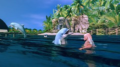 Dolphins (Angel Neske) Tags: water dolphin angel landscape fantasy sl