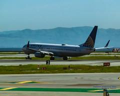 A Boeing 737-900 Rotating From SFO to Head to Phoenix as United (AvgeekJoe) Tags: 100400mmf563 737924er boeing737 boeing737900 boeing737924er california d5300 dslr jetliners ksfo n69813 nikon nikond5300 sfo sanfrancisco sanfranciscointernational sigma sigma100400mmf563 sigma100400mmf563dgoshsmcontemporary usa united unitedairlines aircraft airplane airport aviation jetliner plane telephotolens