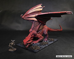 Marthrangul, Great Dragon (whitemetalgames.com) Tags: marthrangul greatdragonreaperempirereddragon77542designedsculptedbyjimjohnsongargantuan 150mm long base 100mm wide reaper reaperminis reaperminiatures pathfinder dnd dd dungeons dragons dungeonsanddragons 35 5e whitemetalgames wmg white metal games painting painted paint commission commissions service services svc raleigh knightdale knight dale northcarolina north carolina nc hobby hobbyist hobbies mini miniature minis miniatures tabletop rpg roleplayinggame rng warmongers models for rent