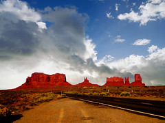 Utah (alsimages1 - Thank you for 860.000 PAGE VIEWS) Tags: crafts beauty red valley clouds sun desert monument utah buttes es sets western historic mittens colours magnificent sandstone plateau restroom facilities arts ngc