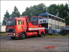PVS (J230 EYA) ((Stop) The Clocks) Tags: pvsbarnsley oldwes j230eya erf erftowwagon pvstowwagon scrapbuses withdrawnbuses 2035 bok35v wmpte westmidlandstravel