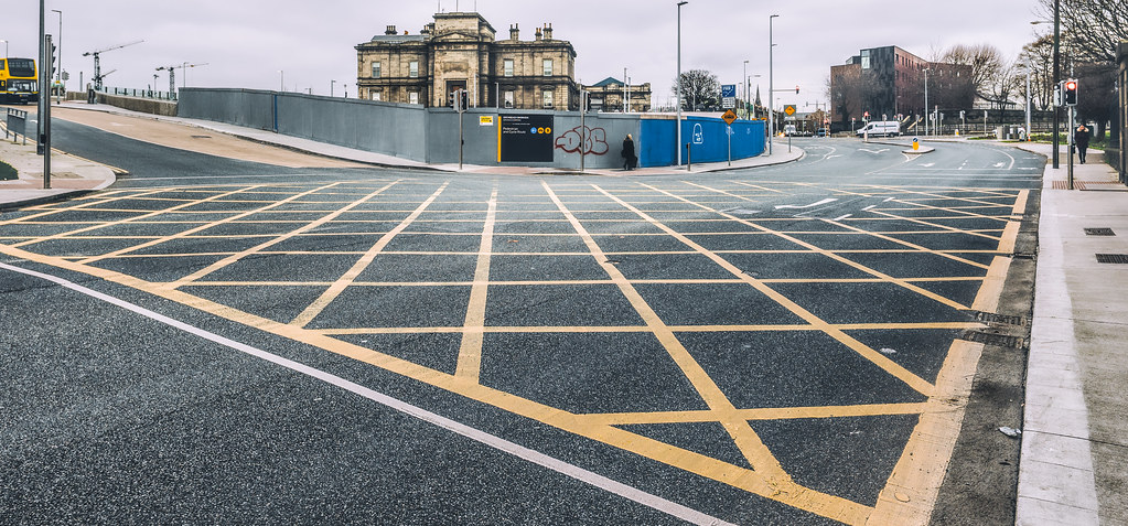 LIMITED ACCESS TO THE GRANGEGORMAN CAMPUS EAST-WEST CYCLE PATH [GRANGEGORMAN STATION AND LUAS TRAM STOP]-147385