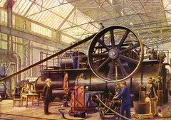Dampfmaschine - steam engine (Magdeburg) Tags: magdeburg vor 1945 altes before old magdeburgvor1945 altesmagdeburg magdeburgbefore1945 oldmagdeburg alt buckau magdeburgbuckau dampfmaschine steam engine dampf maschine steamengine