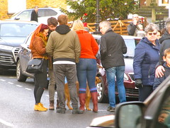 IMG_8686 Boxing day hunt meet in Kirkbymoorside 2018 (petelovespurple) Tags: boxingday hunt 2018 horses boxingdayhuntmeetinkirkbymoorside women wellies england ryedale trousers yorkshire uniforms unitedkingdomuk people plp petee candid riders d90 girls gentlemen happy jodhpurs kirkbymoorside ladies lasses men nikon northyorkshire boots boys black